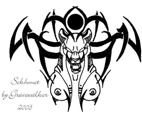 sekhmet tattoo sekhmet design by cheshiresphynx on deviantart