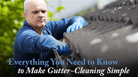 home attitude everything you need to to make your home smart books everything you need to to make gutter cleaning simple