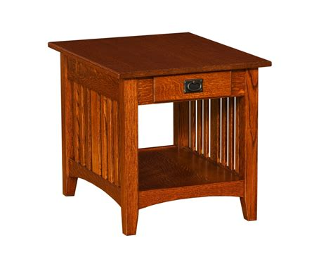 mission accent table mission large end table living room furniture