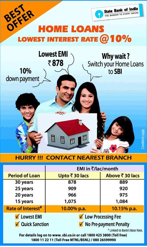 sbi housing loans sbi yuva home loan myreality in real estate share market mutual fund insurance