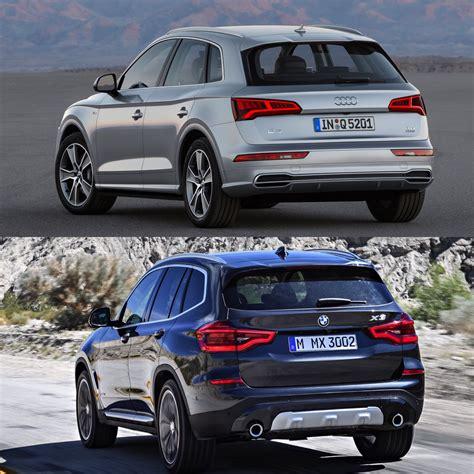 Audi X3 by Photo Comparison G01 Bmw X3 Xdrive30ivs Audi Q5 2 0t