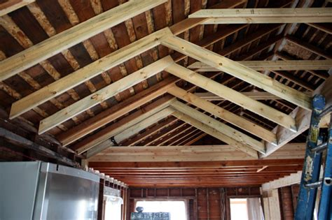 How To Frame A Cathedral Ceiling by House Chezerbey