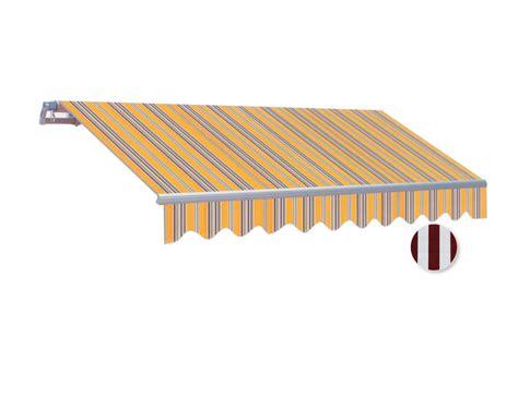 markise 4 m gelenkarm markise sonnenschutz mit handkurbel breite 4m