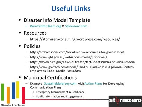 nlrb social media policy template effective whole community digital communications planning