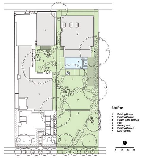 garden home plans designs house in the garden by cunningham architects
