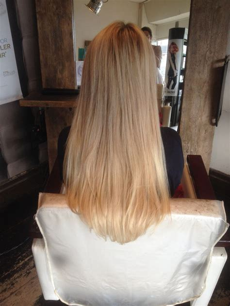 hairstyles for micro ring hair extensions 3 4 head of russian micro ring extensions www