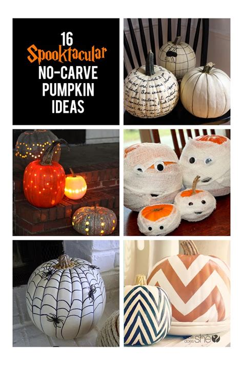 pumpkin decorating ideas no carving my sweet no carve pumpkin ideas how does she