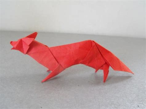 3d Origami Fox - mind blowing exles of origami artworks cssdive