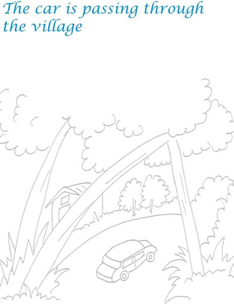 free coloring pages of scenic