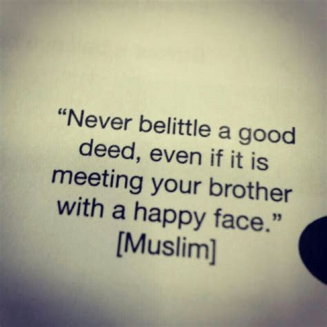 best islamic charity a deed is a deed no matter how deeds