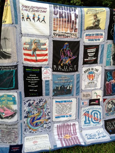 Tshirt Just Do It Never Quit 8 best images about bruce springsteen on quilt
