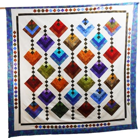 Quilt Hanging by Hanging Gardens Quilt Pattern