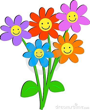 happy day flowers happy flower clipart clipart panda free clipart images