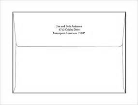envelope printing templates a7 envelope templates 11 free printable word psd pdf