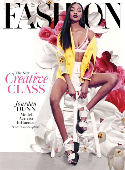 Fashion Designers Issue Model Guidelines by I Was Lucky I Had My To Guide Me Model Jourdan