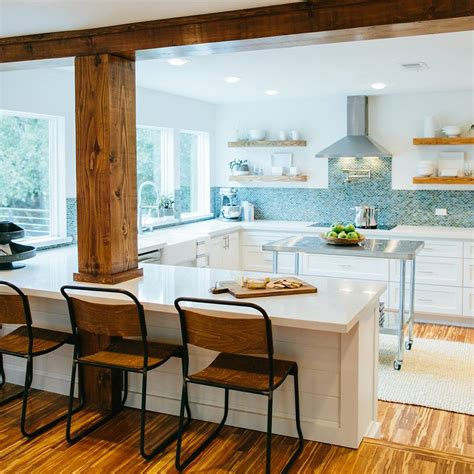 White Kitchen With Island how to add quot fixer upper quot style to your home kitchens