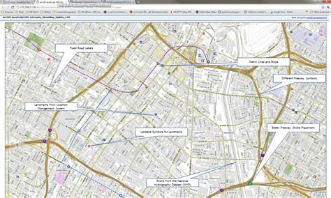 la county 2011 gis day updated map for la county los angeles county enterprise gis