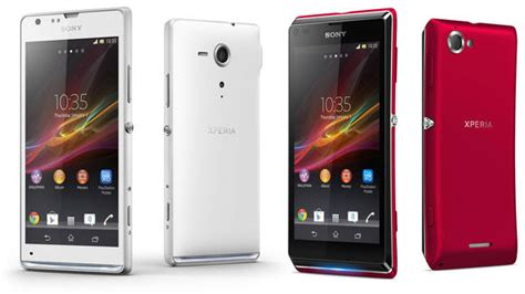 Hp Android Sony Xperia L sony xperia sp and xperia l get priced in uk coming in late april early may gsmdome