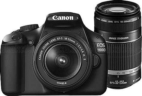 Resmi Kamera Canon 1100d canon eos 1100d 18 55mm 55 250mm lens dijital slr