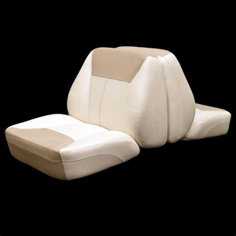 back to back boat seats uk bayliner 174sf 175br oem off white fawn back to back