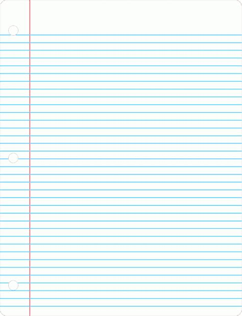 printable notebook paper free printable notebook paper college wide ruled