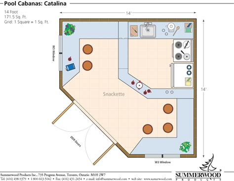 simple pool house floor plans floor plan