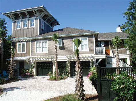 beach bungalow plans beach cottage house exterior pinterest