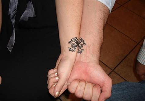 interlocking tattoos for couples celtic tree interlocking design creativefan