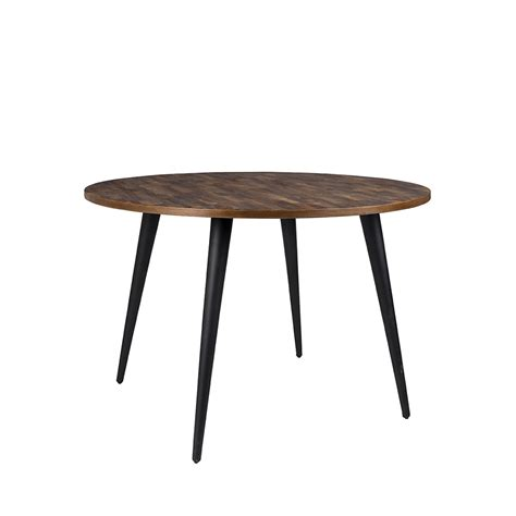 Délicieux Coussin Pour Fauteuil De Jardin #4: Table-a-manger-ronde-en-teck-recycle-mo-110.jpg