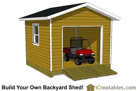 12x9 Garage Door by 12x12 Shed Plans Build Your Own Storage Lean To Or