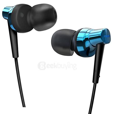 Remax Rm 575 Pro Earphone Blue remax rm 575 wire headset stereo bass in ear earphone