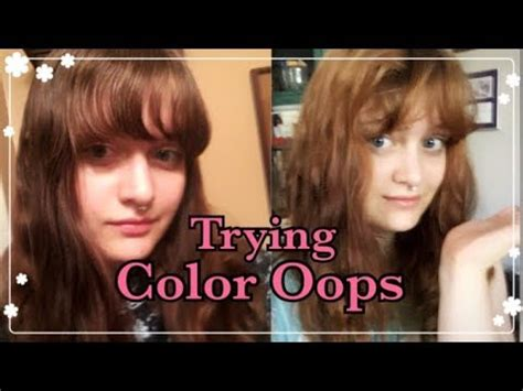 color oops on black hair does color oops work on black hair youtube