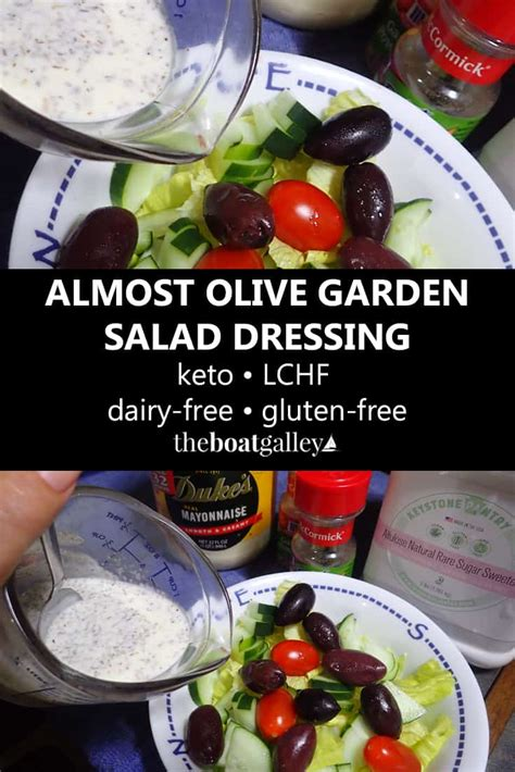 is olive garden salad dressing gluten free almost olive garden salad dressing keto lchf gluten free and dairy free the boat galley