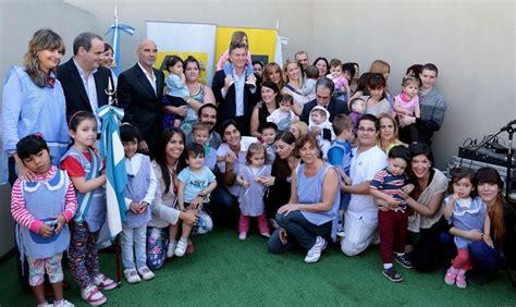 macri va dar una ayuda escolar para las asignaciones ahora macri inaugur 243 un jard 237 n maternal la noticia web ciudad