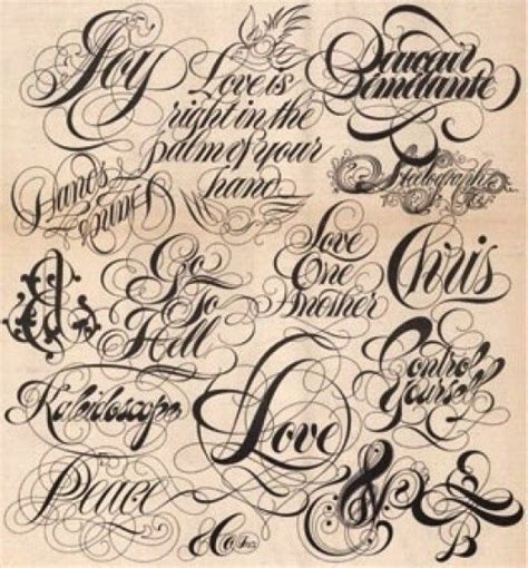 design a font tattoo the art of choosing the perfect font and lettering for a