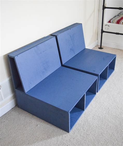 Armchair With Storage by Easy Steps To Make Diy Plywood Chairs With Storage