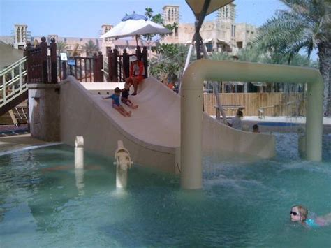 the lap pool at the jumeirah beach hotel oyster com our view first morning leisure pool burj al arab