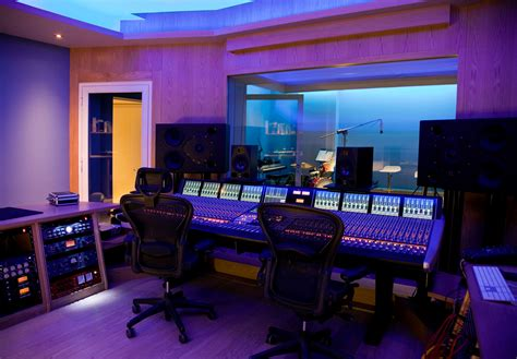 music studio ssl duality installed at ishtar s blue spirit recording