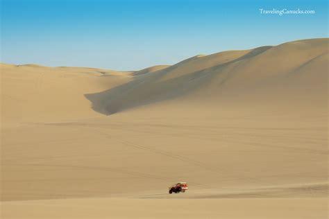 Sand Dunes of Huacachina Peruvian Desert Oasis