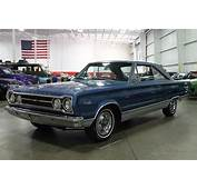 Bright Blue Metallic 1967 Plymouth Satellite For Sale