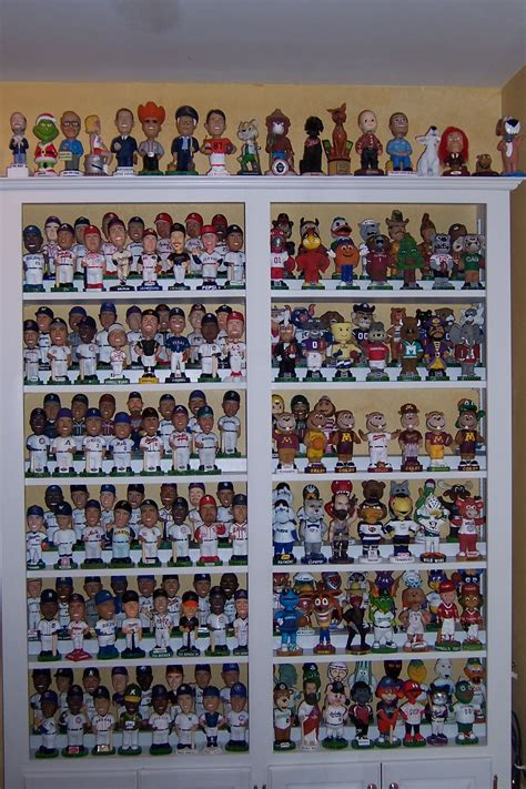 bobblehead shelves build a large display display bobble and