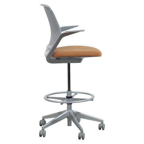 steelcase cobi chair dimensions steelcase cobi used gray mesh stool orange seat