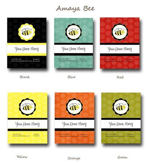 design label ideas custom honey labels designs