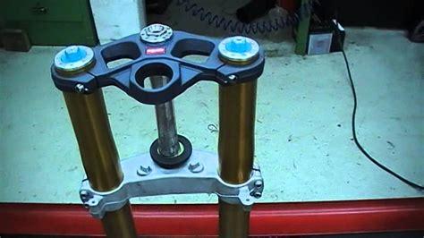 Motorrad Gabel Video by Aprilia Rsv 1000 R 214 Hlins Gabel Motorrad Teile Youtube