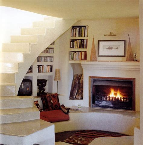 Fireplace Nook by I Like The Idea Of A Single Room Downstairs In One