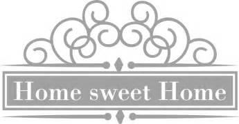 home sweet home 4 wall sticker wall art com