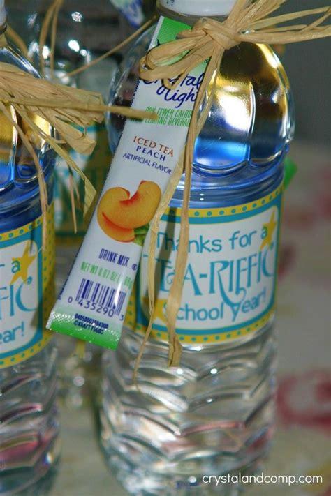 teacher appreciation free tea riffic teacher water bottle