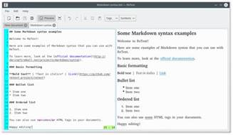 markdown color 10 best markdown editors for linux