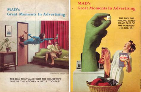 Spoof Ad In The Times by When Ads Were Really Mad The Best Mad Magazine Spoof Ads