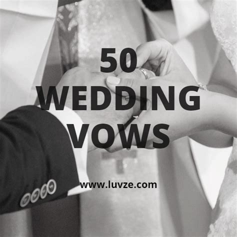 Wedding Vows To Him by 52 Marriage Wedding Vows For Him Or